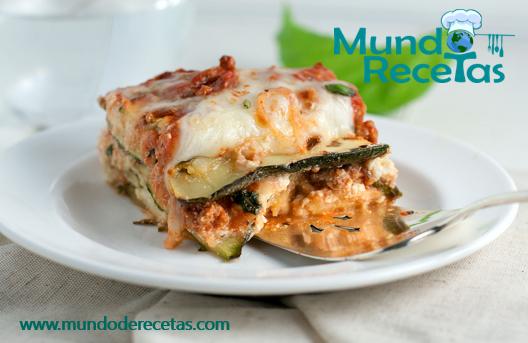 lasagna de zucchinis