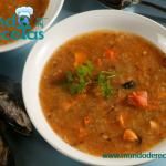 sopa de mejillones