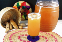 como hacer agua de tamarindo natural