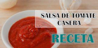como hacer salsa de tomate casera facil