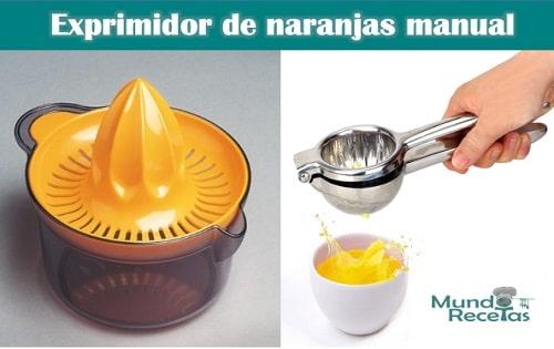 exprimidor de naranjas manual